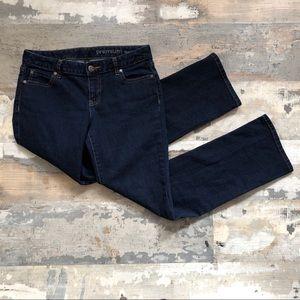 Gap premium curvy straight leg jeans size 4